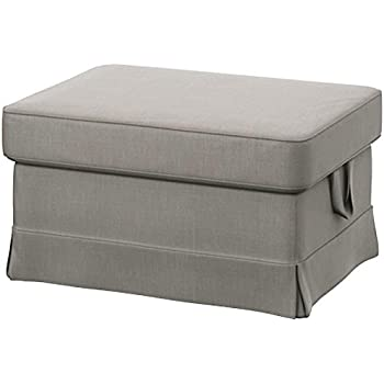 Amazon.com: IKEA Cover for Ektorp Ottoman (footstool ...