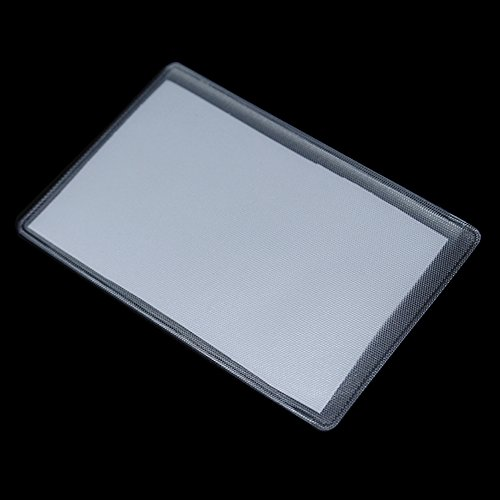 Matte Clear ID Credit Business Card Soft Plastic Bags Sleeves Protector Holder Wrapping Bus Dust Proof Waterproof Type Office Supplies Identification Badges Holders 6x9.6cm (2.4x3.8 inch) (600 ()