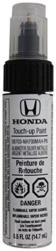 Genuine Honda (08703-NH691MAH-PN) Touch-Up Paint, Silver Moss Metallic, Color Code: NH691M by Honda