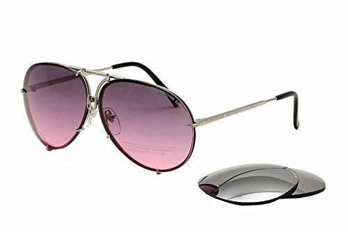 Porsche Design Sunglasses, Silver, 69mm