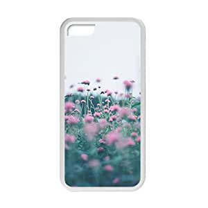 Purple Flowers Fashion Personalized Phone Case For Iphone 6 (4.5)