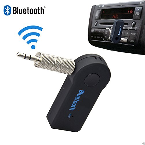 tooth 3.5mm Car Aux Audio Stereo Music Receiver Adapter+ Mic ()