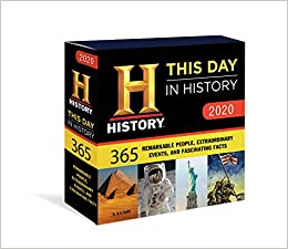 Best History Books 2020.2020 History Channel This Day In History Boxed Calendar 365