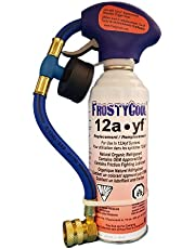 FrostyCool 12a·yf 1234yf Replacement Refrigerant 8 oz. Can with Trigger Hose (Equivalent to 16 oz.)