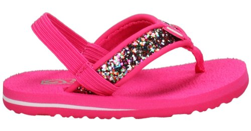 Teva Mush T Sparkle Flip Flop (Toddler),Pink,6 M US Toddler