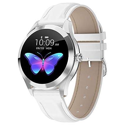 SMSTG Smart Watch Women Kw10 Heart Rate Bluetooth Smart ...