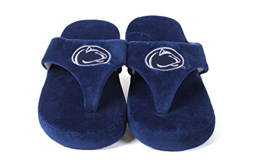 Comfy Feet Happy Nittany and Lions Penn Flop OFFICIALLY State Mens College LICENSED NCAA Womens 15qSYwHfx