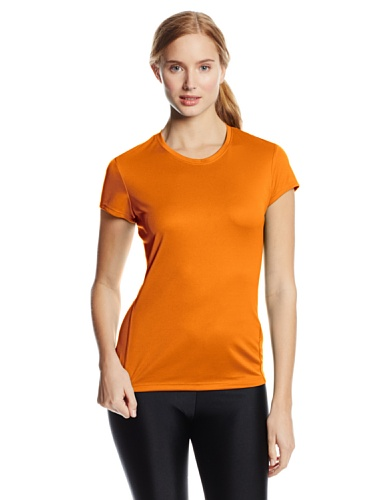 Run Asics Core Shirt (ASICS Women's Core Short Sleeve, Fuel, Medium)
