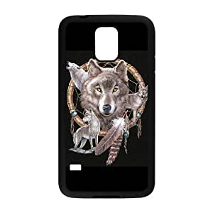 Case Of Wolf Dream Catcher Customized Case For SamSung Galaxy S5 i9600