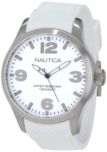 Nautica Men's N11592G BFD 102 Classic Analog with Enamel Bezel Watch