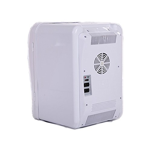 Mini Fridge (20L/24 Can White) Compact Fridge, Thermoelectric Cooler and Warmer (Ship from US),Car Refrigerator,Mini Refrigerater for Home,Car, RV,Bedroom,Office,Dorm ()