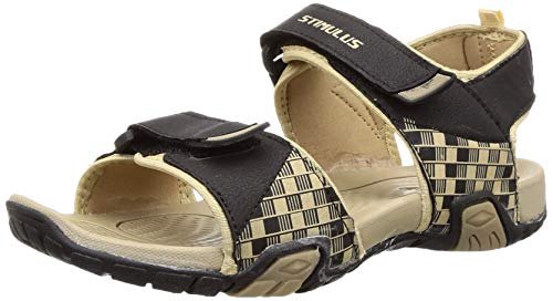 Paragon Men's Beige Sandals & Floaters-7 UK/India (41 EU)(FB9065G)