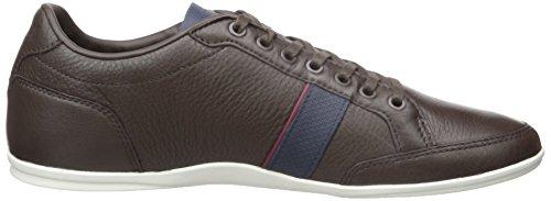 Men's 1 Dark Brown Sneaker Alisos Fashion 116 Lacoste RwTdZR