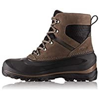 Sorel - Men's Buxton Lace Waterproof Winter Boot, Major/Black, 12 M US