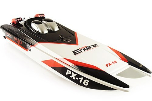 PX-16 Storm Engine Mosquito Racing Boat RC 32 Catamaran R/C Jet NQD Ship by Unknown