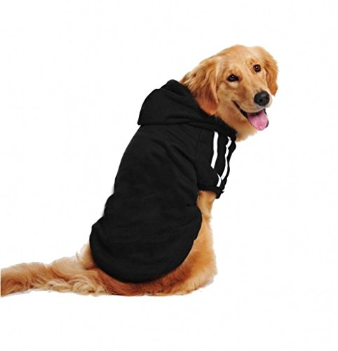 German Shepherd Labrador Retriever (Lesypet Big Dog Sweater Dog Hoodies Sports Clothes Design for Big Dog, Labrador Retriever, Golden Retriever ,German Shepherd Dog,Boxer etc,)