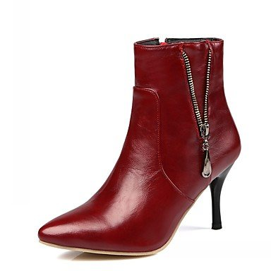 RTRY Women'S Boots Spring Fall Winter Platform Comfort Novelty Patent Leather Leatherette Wedding Office &Amp; Career Dress Casual Party &Amp; Evening US6.5 / EU38 / UK5 Big Kids CxLlxuERWp