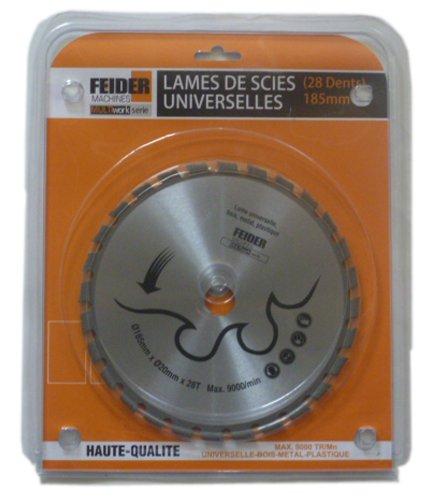 Feider F235LU Disco Corte multimaterial 235 mm Silver