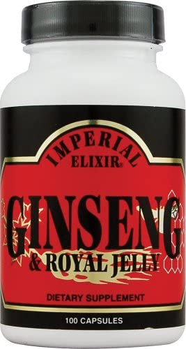 Imperial Elixir Ginseng and Royal Jelly – 100 Capsules