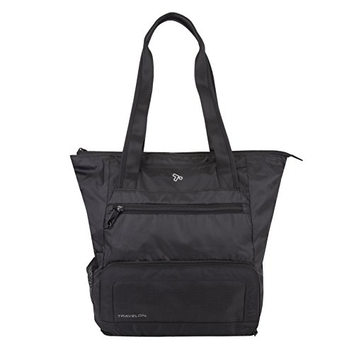 Travelon Anti-theft Active Packable Tote, Black