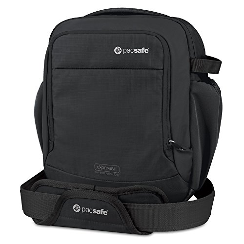 Pacsafe Camsafe V8 Anti-Theft Camera Shoulder Bag, Black
