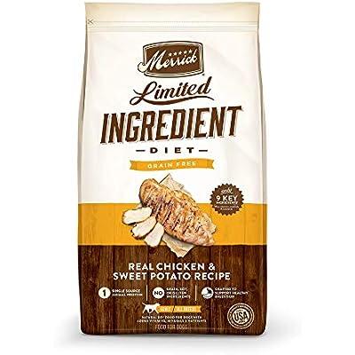 Merrick Grain Free Limited Ingredient Diet Chicken Recipe Dry Dog Food