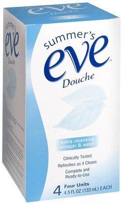 SUMMER'S EVE supplémentaire de nettoyage Douche 4 Pack-18 oz