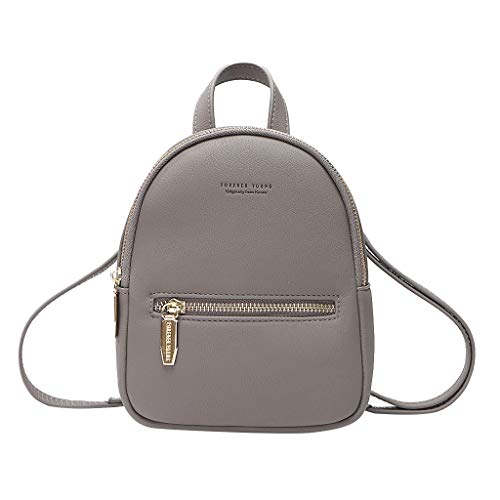 Kangma Mini Bagpack Fashion Multifunction Wide Handbag Casual Solid Zipper Tote Adjustable Messenger Bags