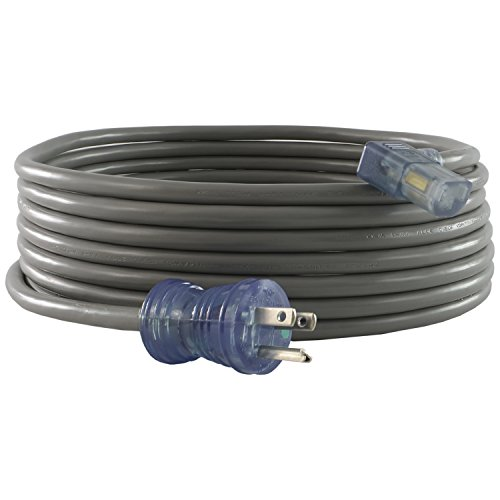 Conntek 25509 13-Amp 125-Volt Hospital Grade/Green Dot Cord 15-Foot SJT 16/3 105C NEMA 5-15P to IEC 320-C13 Right Angle