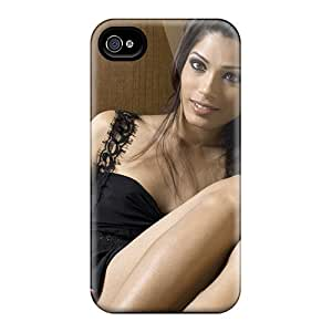 For Scotlard Iphone Protective Case, High Quality For Iphone 5/5s Freida Pinto Skin Case Cover