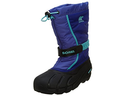 Sorel Youth Flurry P LO C Cold Weather Boot , Purple Lotus,
