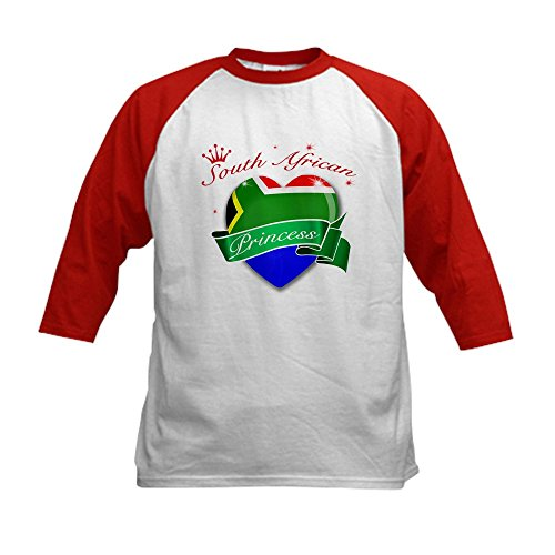 CafePress - South African Princess Kids Baseball Jersey - Ki