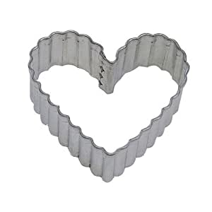 HEART FLUTED 3.5 IN. B0892