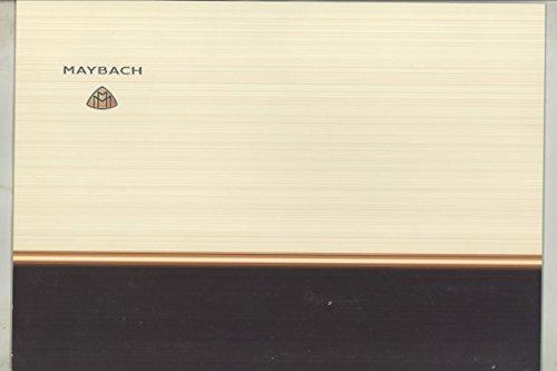 2004-2005-maybach-57-62-original-factory-photo-brochure