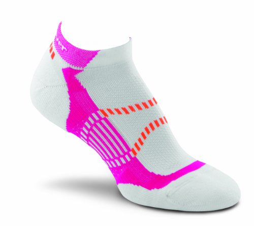 (Fox River Women's Vite LX Ankle Socks, Neon Pink, Small)