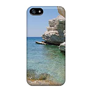 WPZGHIE4294KJtYf Snap On Case Cover Skin For Iphone 5/5s(greek Water Scene)