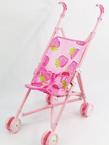 16334191b Image Unavailable. Image not available for. Color: High Quality Pink Baby  Doll Safe Stroller Toy for Girls
