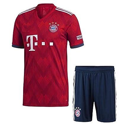 release date de21c 6aa3c Buy aALLOOkART Bayern Munich Home Jersey with Shorts 2018 ...