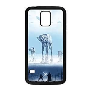 C-EUR Customized Print Star Wars Hard Skin Case Compatible For Samsung Galaxy S5 I9600