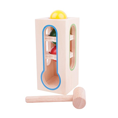 Bigjigs Toys Stacking Ball Fall Toy by Bigjigs Toys