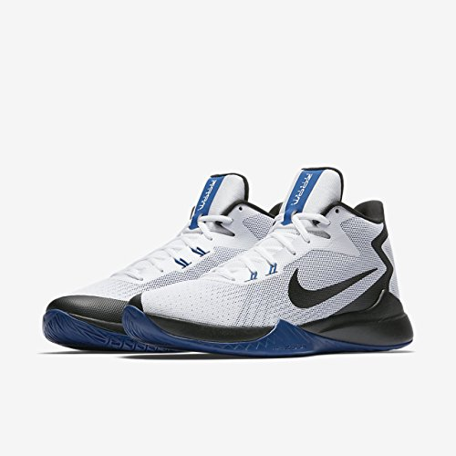 Nike Heren Zoom Bewijs Basketbalschoenen Wit / Zwart / Varsity Royal