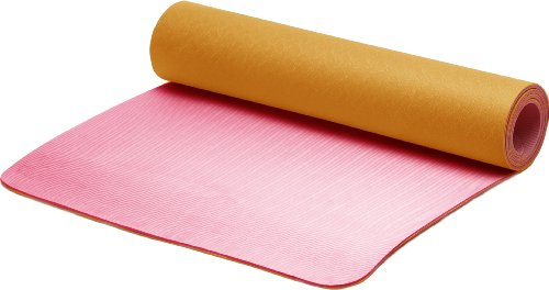 STOTT PILATES Eco-Friendly Mat (Watermelon/Mango) 0.25 inch / 6 mm