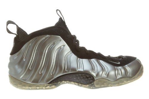 Nike Air Foamposite One Mens Sneakers 314996-007 Peltro Mtlc / Nero