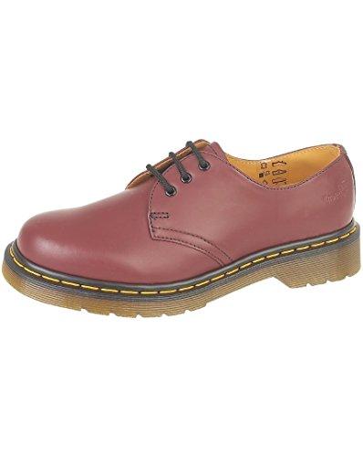 Dr Martens uomo 1461Z scarpe con Rosso (Rosso ciliegia)