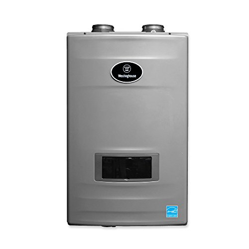 Westinghouse WGRTNG199 199K BTU Natural Gas High-Efficiency Tankless Water Heater with 0.98 Energy...