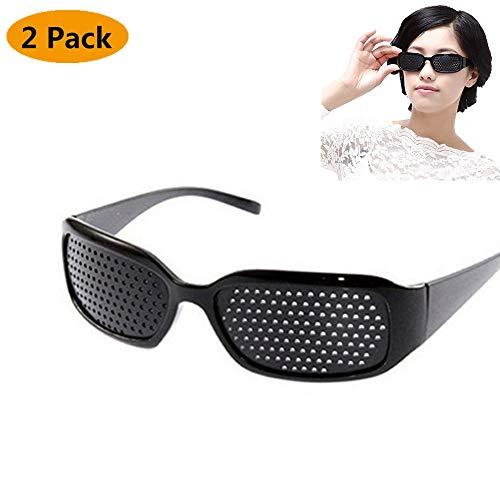 - debieborahtoys Pinhole Sunglasses Microporous Anti-Fatigue Goggles Swap Vision Care Glasses Eyesight Improver Eyewear for Astigmatism and Myopia