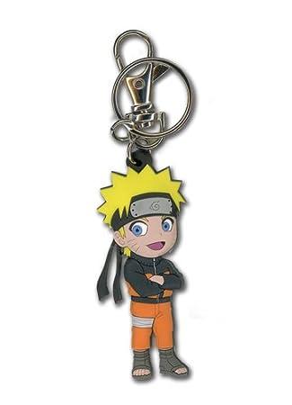 Naruto Shippuden Naruto Chibi Llavero PVC: Amazon.es ...