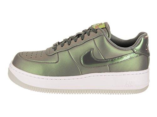 in Nike 001 AA3964 Unisex Air Force Wmns Scarpe Pelle LX Lucido Verde Upstep 1 Premium 6qzTw6