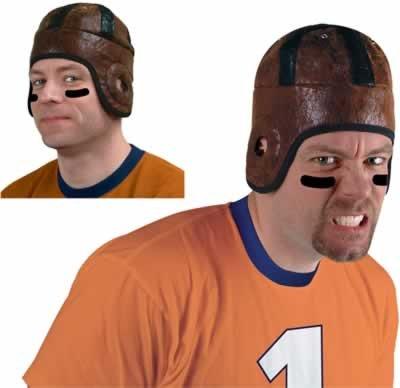 Retro Football Helmet Party Accessory (1 count) (1/Pkg)