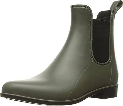 Sam Edelman Women's Tinsley Rain Shoe, Moss Green Matte, 8 M US - Wellies